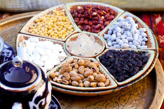 парварда и орехи
