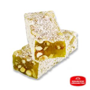 Рахат-лукум мини-брусок с орехами c ароматом лимона Айнур