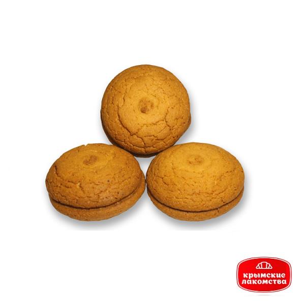 Печенье сдобное с варёной сгущёнкой «Европа» Айнур