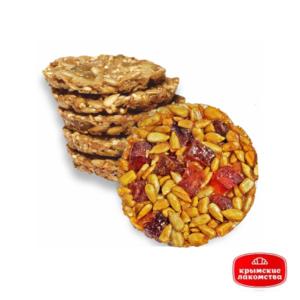 Печенье карамелизированное «Крымское» с семечками и цукатами 1 кг Айнур