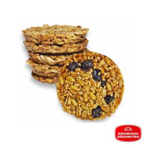 Печенье карамелизированное «Крымское» с семечками и изюмом Айнур