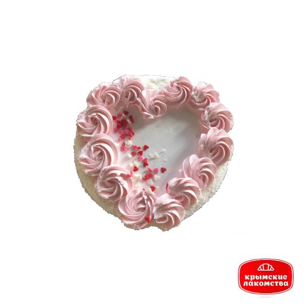 "Торт ""Сердце"" 1 кг Айнур"