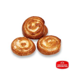 Печенье сдобное «Улитка» с творожной начинкой 1 кг Крымские Лакомства