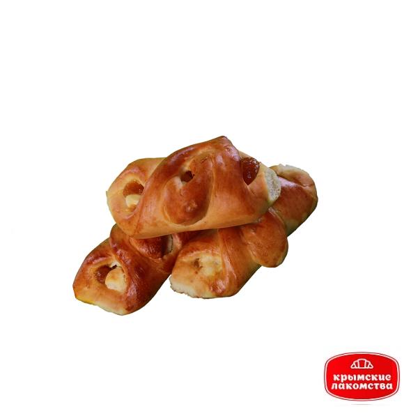 Печенье сдобное «Матрёшка» с творогом и персиковым джемом 2 кг Айнур