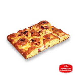 Пирог творожно-смородиновый Айнур